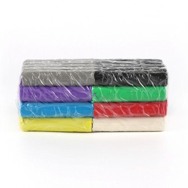 Modellervoks, 8 farver