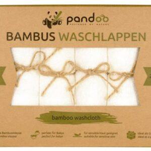 Bambus vaskeklude 6 stk.